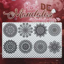 ~~Pack de Mandalas .png #1 by ISirensDesigns