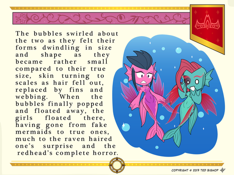 Another Princess Story - True Mermaids by Dragon-FangX