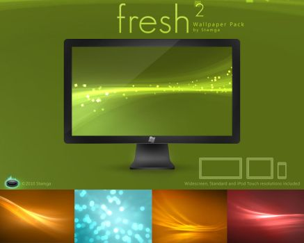 Fresh2 - Wallpaper Pack by Stamga