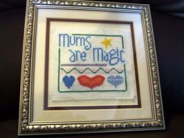 Mums Are Magic by VickitoriaEmbroidery