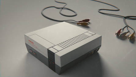 Nintendo Entertainment System by QuickBoomCG