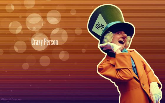 A Crazy Person by margflower