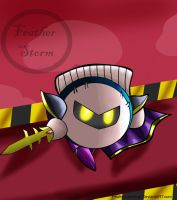 Meta Knight by Feather-Storm