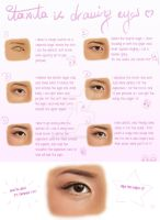How I Draw Eyes by itaXita