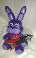 Bonnie Plush Figurine pic 2 by Mirage-Epoque