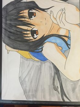 Yui kotegawa. Copic marker by KurehaShido