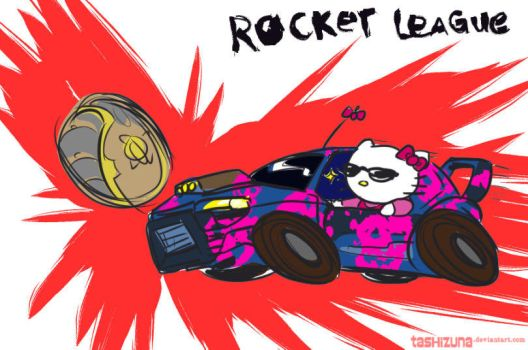 Rocket League Badass Kitty by tashizuna