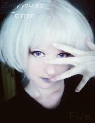 Zankyou no Terror Five cosplay in start by EveGeist