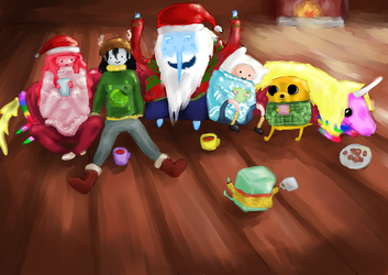It's Christmas time! by MagiTheLion