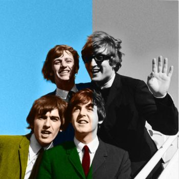 The Beatles Arrive! by TheNowhereManLives