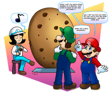 Commish: C is for Cookie by Nintendrawer