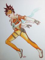 Tracer - Overwatch by Kailyce