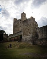 Rochester castle 2 by FubukiNoKo