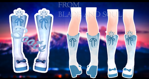 MMD Blade and Soul - Boots - [DOWNLOAD][DL] by Milionna