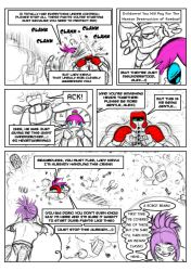 Fighting Tournament Audition Page 3 by DigiDayDreamer