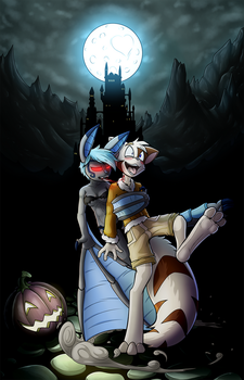Embrace of a Vampire by Lord-Kiyo