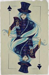 King of spades by AmeliaMadHatter