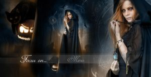 Focus on Hallowitch by Miesis