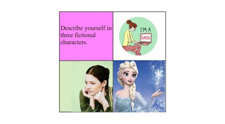 Describe Yourself In Three Fictional Characters by ryu-ren