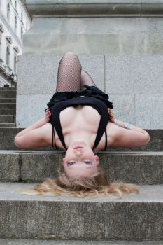 Blond bombshell stock 31 by Random-Acts-Stock