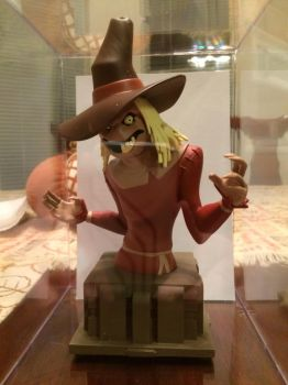 Collectible Scarecrow Bust by ShadOBabe