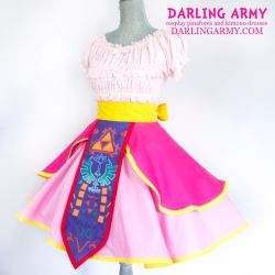 Princess Zelda - Legend of Zelda - Cosplay Skirt by DarlingArmy