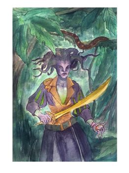 Vraska by mianewarcher