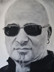 A little Disturbed..David Draiman by candysamuels