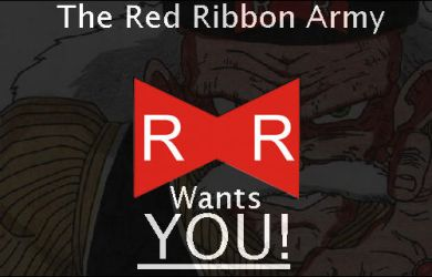 The Red Ribbon Army Wants YOU by Rubber-Band-Of-Doom