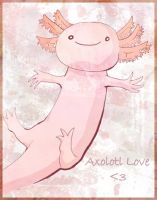 Love the axolotl by kangel