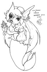 Inktober 2017 1/31 - Gigamermaid by pchaos720