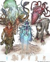 Gamma World Monsters 13 by MikeFaille