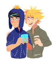 more creek lmao by Arynetcomics