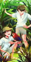 Jiminie and Jungkookie ft. Rainforest by pheika