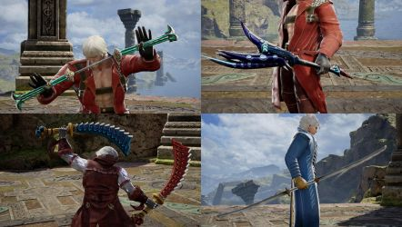 SCVI DMC3 weapon mod pack by monkeygigabuster