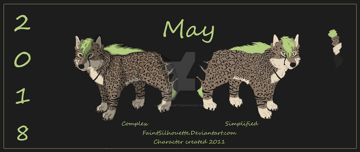 2018 May Reference Sheet by FaintSilhouette