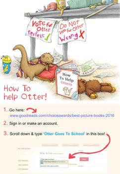 Otter Needs Your Help! by samuel123