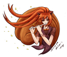 psota - practicing [colored] by silverei