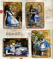 Alice ATCs by hogret