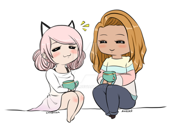Ava and Chii by ChiiDoLL