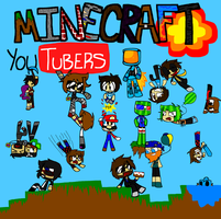 Minecraft Youtubers (Contest Entry) by MetaT0shi