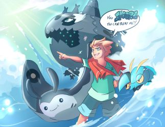 Gymleadersona - Epic Water Guys! by MattCarberry