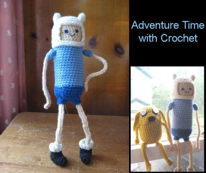 Adventure Time with Crochet by hookrat
