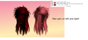 MMD SCENE QUEEN Hair by amiamy111