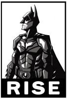bat man rise by HEROBOY