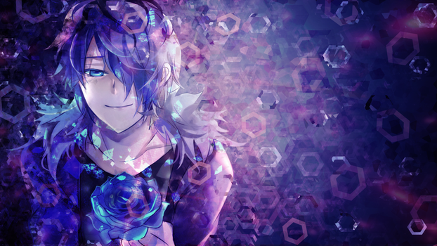 Ib HD wallpaper - Garry by umi-no-mizu