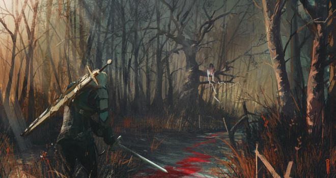 The Witcher - Safest road by Seven-teenth
