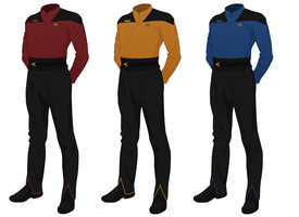 Class B Officer's Wraparound (male) (Star Trek) by JJohnson1701