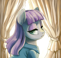 Maud Pie Portrait Pin by mywatercolorheart