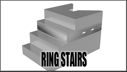 Ring Stairs for Four-Sided Ring by sedartonfokcaj